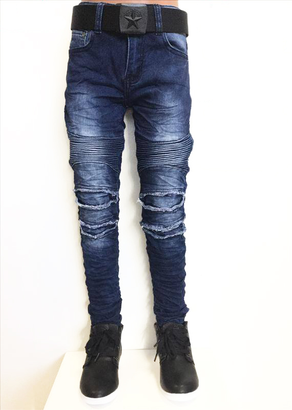 Squared and Cubed Jeans BIKER Destroyed