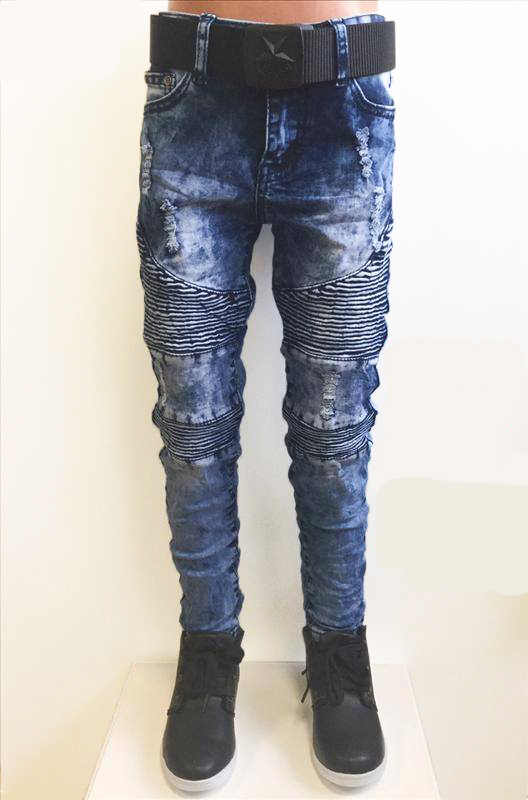 Squared and Cubed Jeans WORKER bleach blue