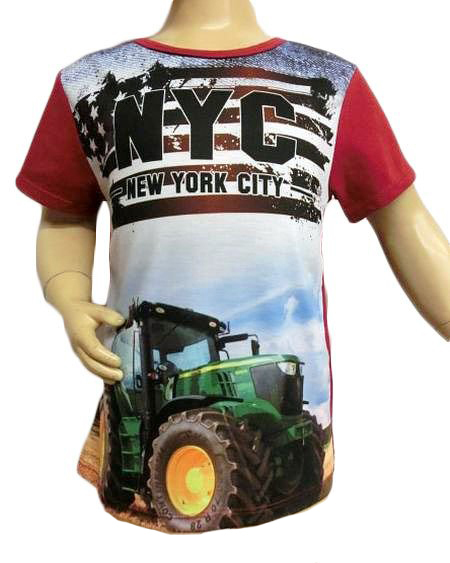 T-shirt TRACTOR NYC
