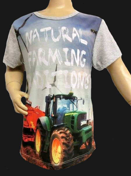 T-shirt TRACTOR NATURAL FARMING