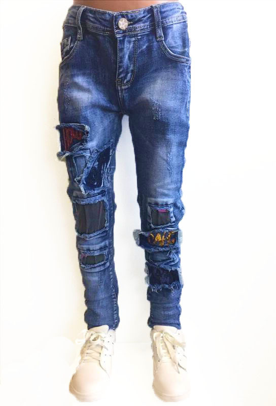 Squared and Cubed Jeans REBEL Destroyed