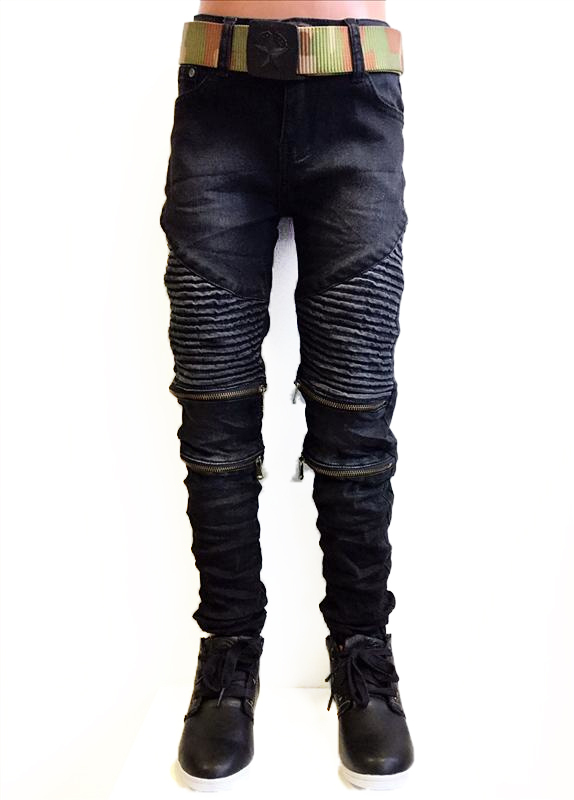 Squared and Cubed Jeans BIKER ZIP