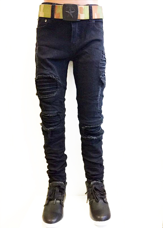 Squared and Cubed Jeans BIKER ROUGH
