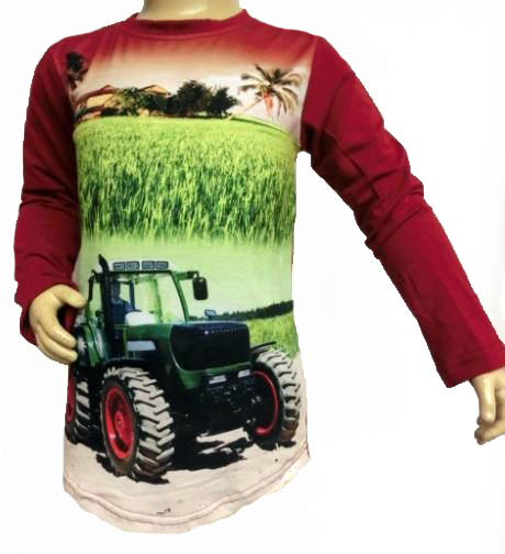 Longsleeve Tractor (Squared and Cubed)