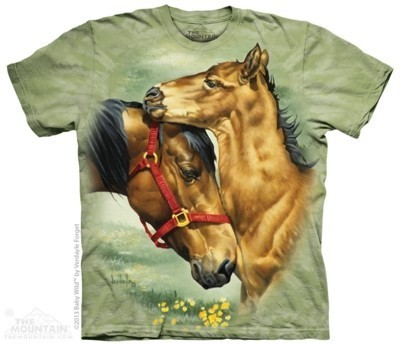 Meadow Horses Animal T Shirt