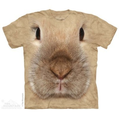 Bunny Face Animals T Shirt