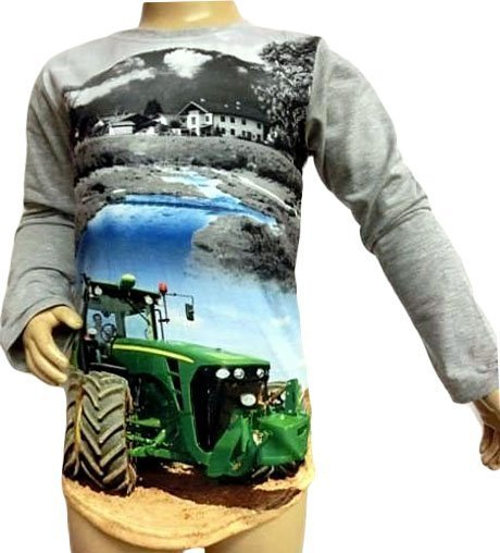 Longsleeve Tractor Big Wheels